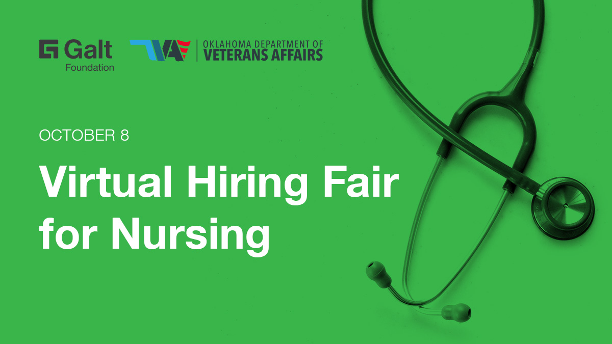 Galt Foundation: Virtual Hiring Fair for Nursing - Register Now